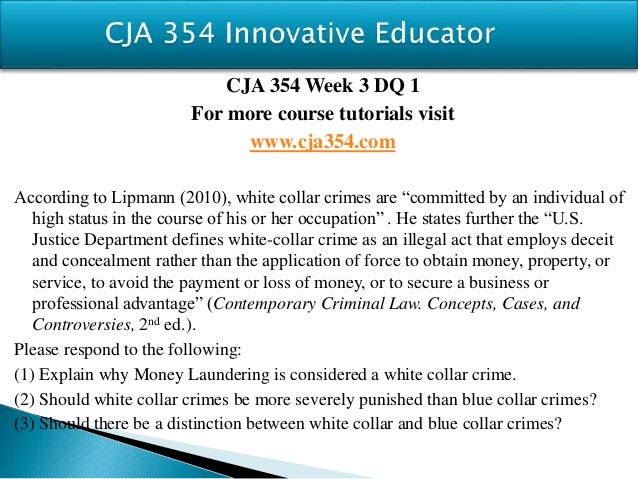 """an introduction and a definition of a white collar crime Introduction the meaning and definition of white-collar crime is deeply contested most criminologists recognize that white-collar crime is different from traditional """"street"""" crime."""