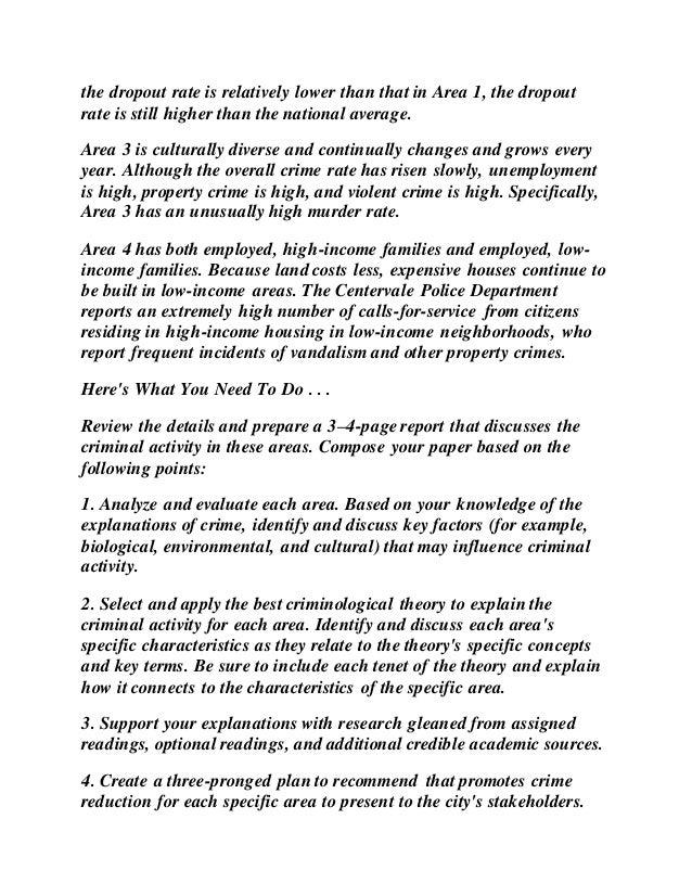 theories of crime pdf