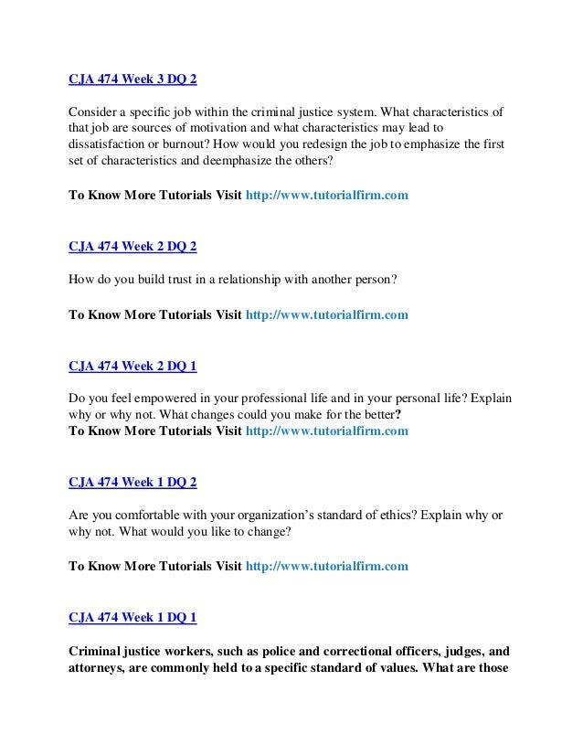 cja 474 Cja 474, cja 474 uop course tutorial, cja 474 complete course | see more ideas about ashford university, devry university and alternative.