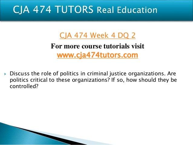 Cja 234 week 4 dqs