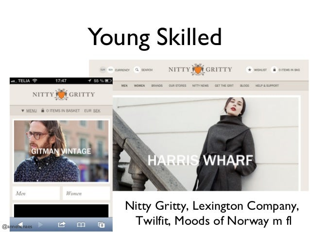 Young Skilled @annelienaes Nitty Gritty, Lexington Company, Twilfit, Moods of Norway m fl