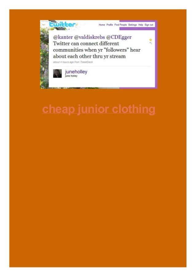 cheap junior clothing