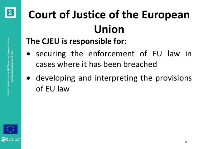the european court of justice essay The purpose of litigation at the european court of human rights explores the central debate between individual and constitutional justice european studies essay writing service essays more european studies essays.