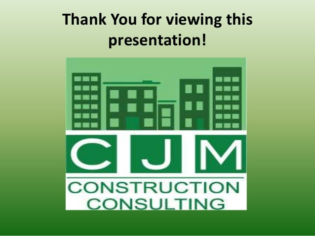 Thank You for viewing this presentation!