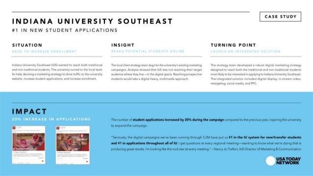 CJ Media Case Study: Education | Indiana University Southeast