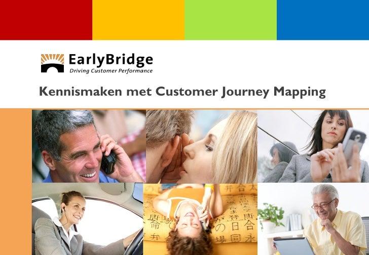 Kennismaken met Customer Journey Mapping