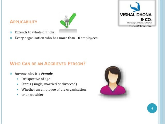 Sexual harassment law in india ppt