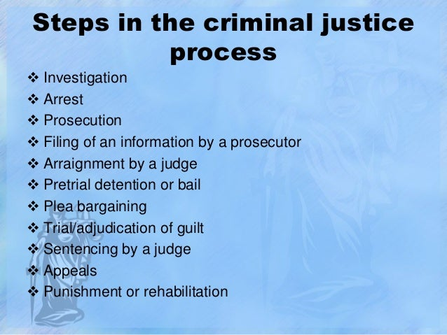 criminal law and the legal process Differences between civil and criminal law in the usa  the statement ignorance of the law is no excuse is an ancient legal doctrine.