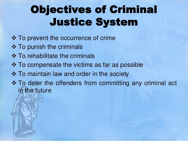 Criminal justice system of india and