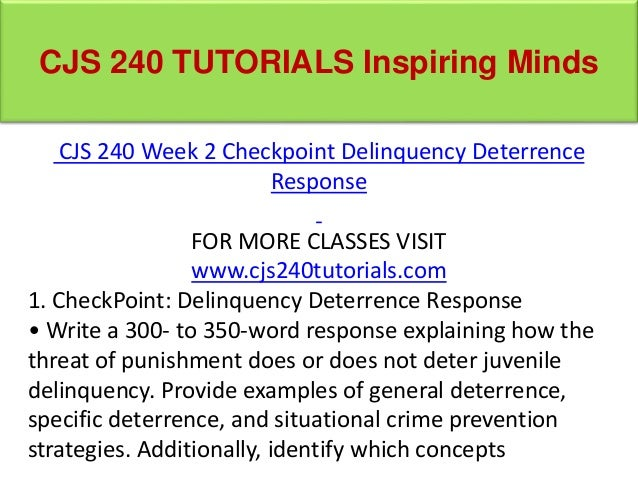 deterrence theory criminology
