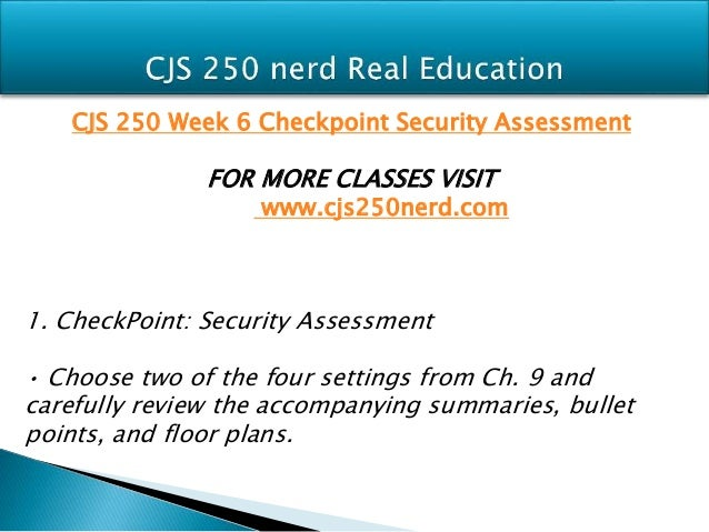 Anagaspar assignment cjs250 week7