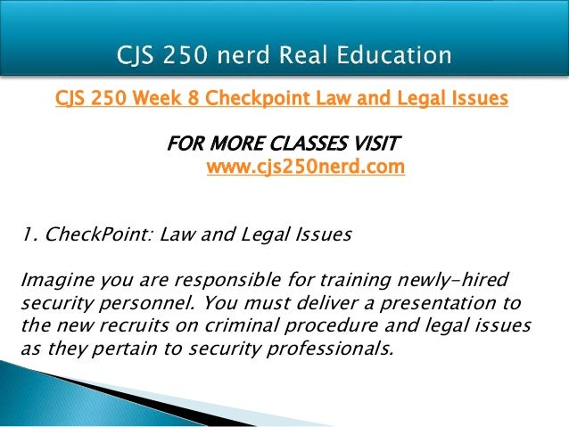 cjs 250 capstone checkpoint Cjs 250 week 4 checkpoint models of physical security (appendix d) cjs 250 week 4 dq 1 and dq 2 cjs 250 week 5 checkpoint evaluating safe work conditions appendix e.