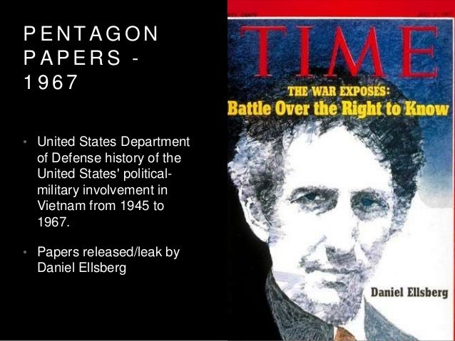 P E N T A G O N P A P E R S - 1 9 6 7 • United States Department of Defense history of the United States' political- milit...