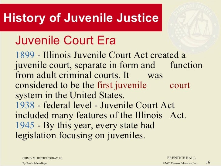 adult and juvenile justice system Today, the debate over the development and change of the modern juvenile justice system raises the problem of its adaptation to the specific environment, where the.