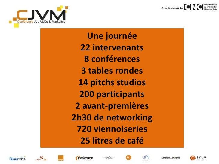 Bilan Conférence Jeu Vidéo Marketing Slide 3