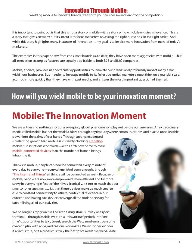 Innovation through mobile ebook 3 fandeluxe Image collections