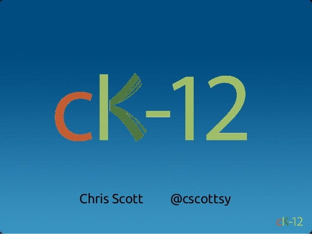 Chris Scott   @cscottsy