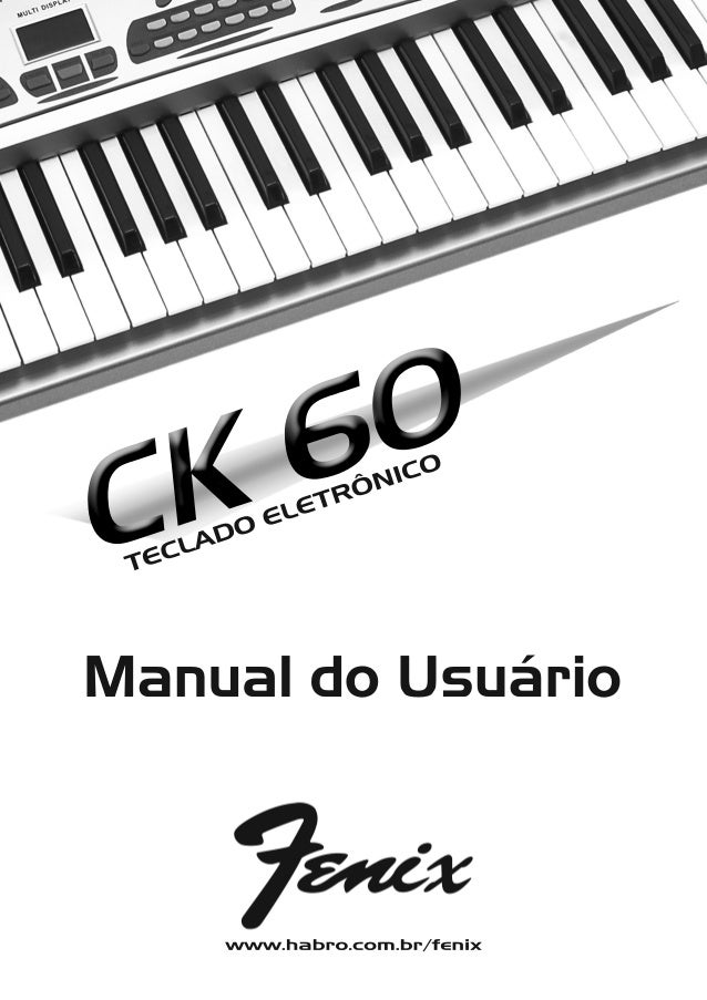 Manual do teclado Fenix CK60 (PORTUGUÊS)