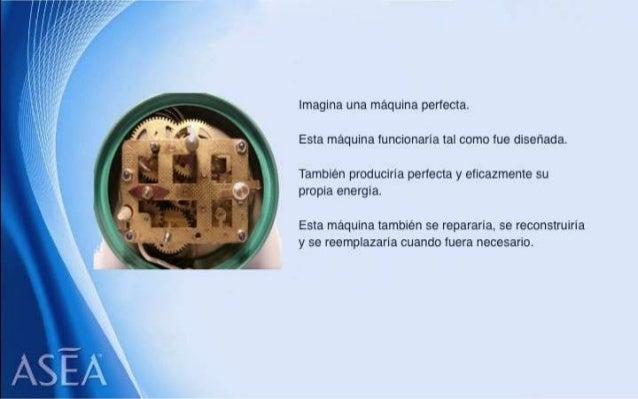 ASEA - EL MILAGRO DE LAS MOLÉCULAS DE SEÑALIZACIÓN REDOX Slide 3