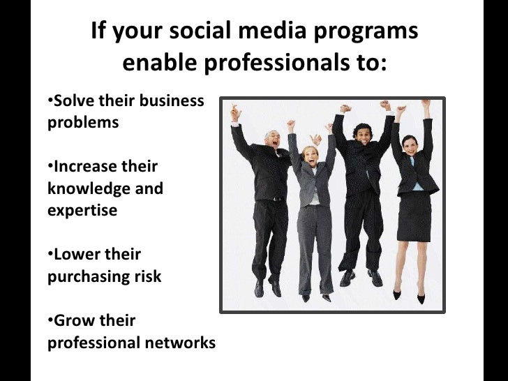 Professionals Must Lower Risk.<br />Business professionals buy big-ticket items that not only affect them, but other depar...