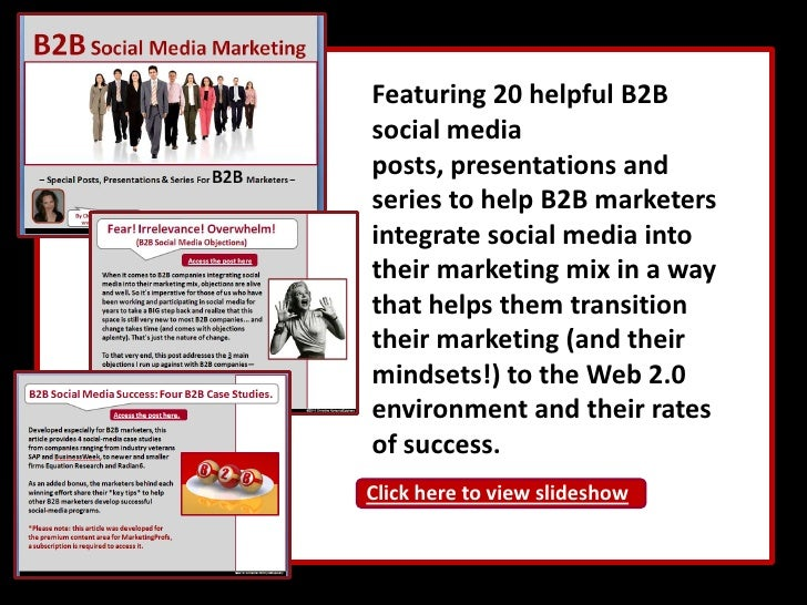 By developing social-media programs that enable professionals to:<br /><ul><li>Solve their business problems