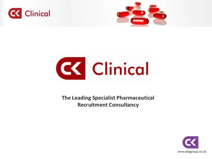 The Leading Specialist Pharmaceutical <br />Recruitment Consultancy<br />