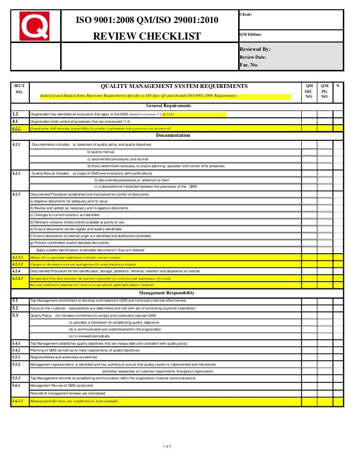 iso 9001 forms templates free - cklt 9001 29001