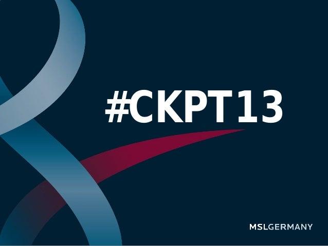 #CKPT13