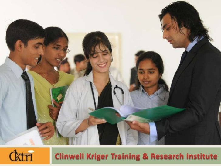 •CKTRI is a premier institute of Clinical Research in a joint venture with Clinwell Research Inc., USA & Kriger Internatio...