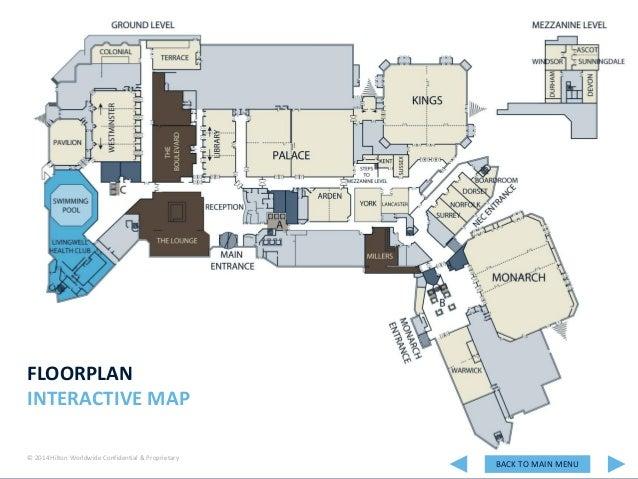 Interactive Hotel Presentation - Hilton Birmingham Metropole