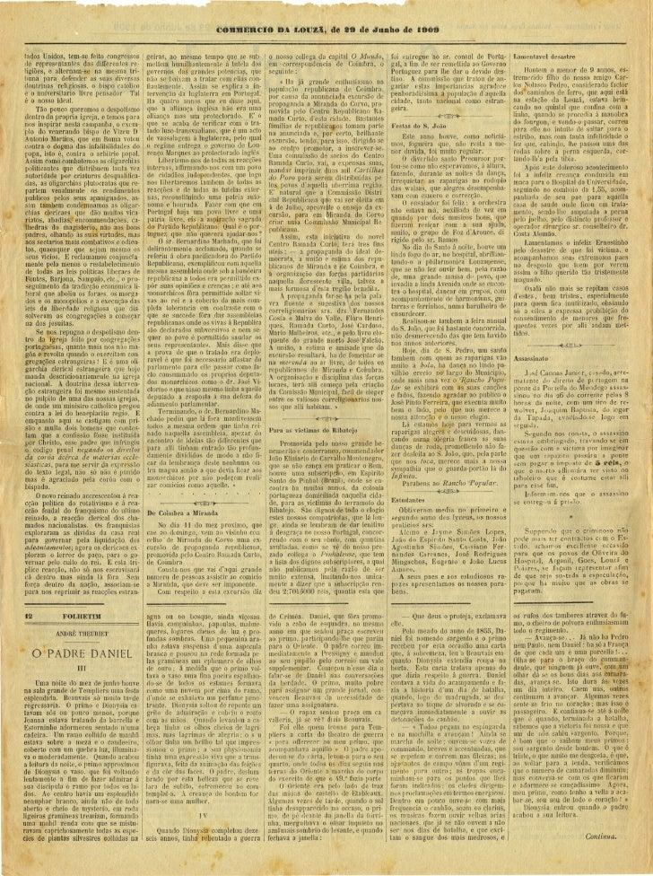 Commercio da Louzã n.º 13 – 29.06.1909 Slide 2