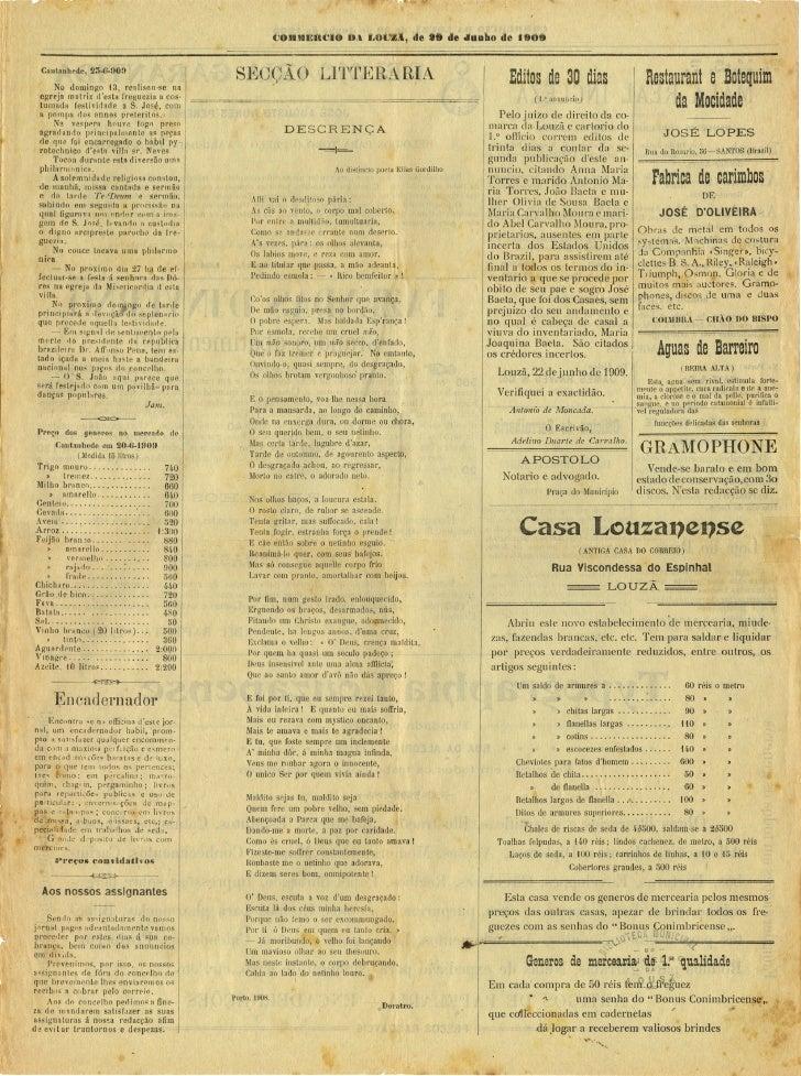 Commercio da Louzã n.º 13 – 29.06.1909 Slide 3