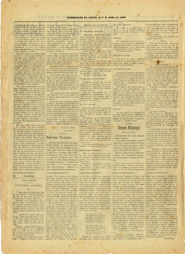 Commercio da Louzã n.º 14 – 07.07.1909 Slide 2
