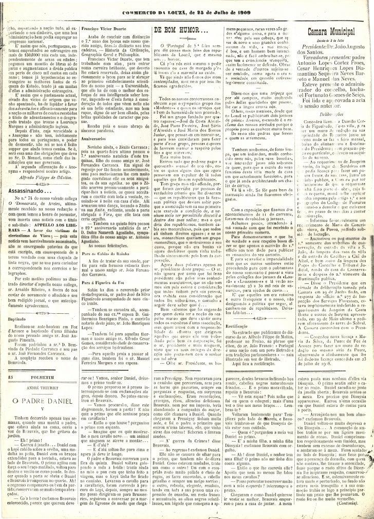 Commercio da Louzã n.º 16 – 24.07.1909 Slide 2