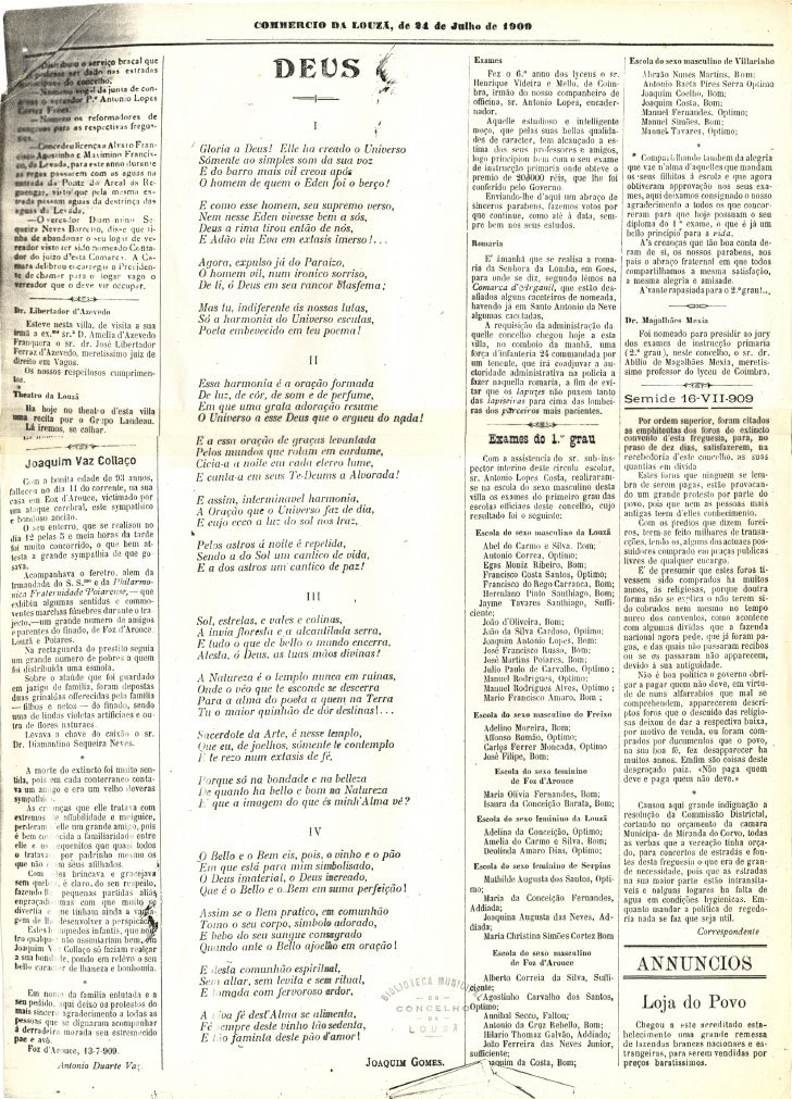 Commercio da Louzã n.º 16 – 24.07.1909 Slide 3