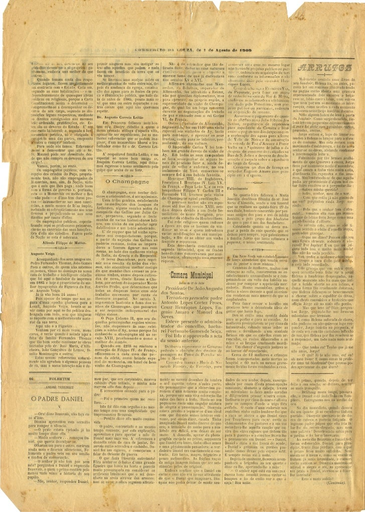 Commercio da Louzã n.º 17 – 01.08.1909 Slide 2