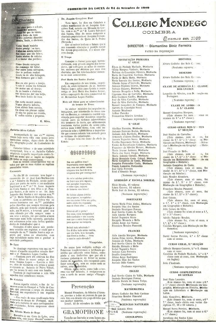 Commercio da Louzã n.º 24 – 24.09.1909 Slide 3