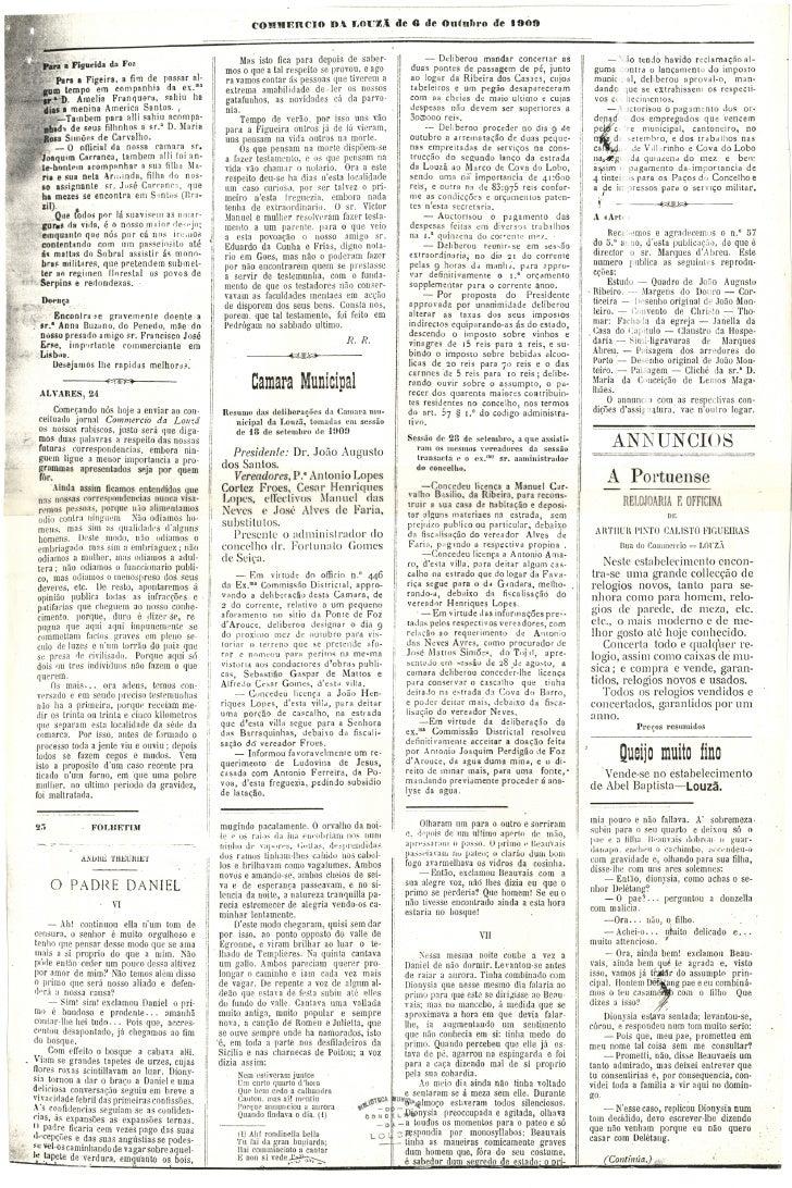 Commercio da Louzã n.º 25 – 06.10.1909 Slide 3