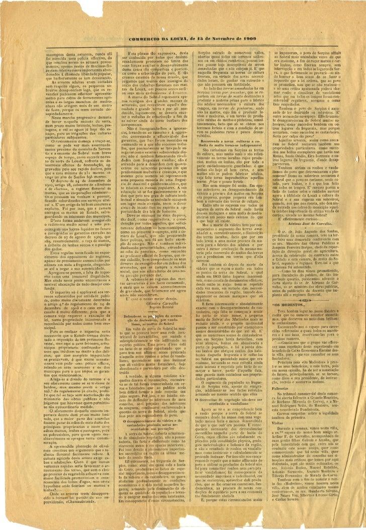Commercio da Louzã n.º 29 – 15.11.1909 Slide 2