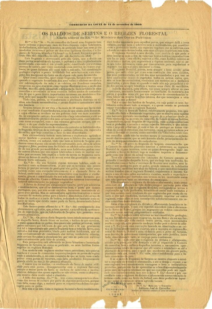 Commercio da Louzã n.º 29 – 15.11.1909 Slide 3