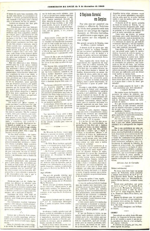 Commercio da Louzã n.º 30 – 02.12.1909 Slide 2