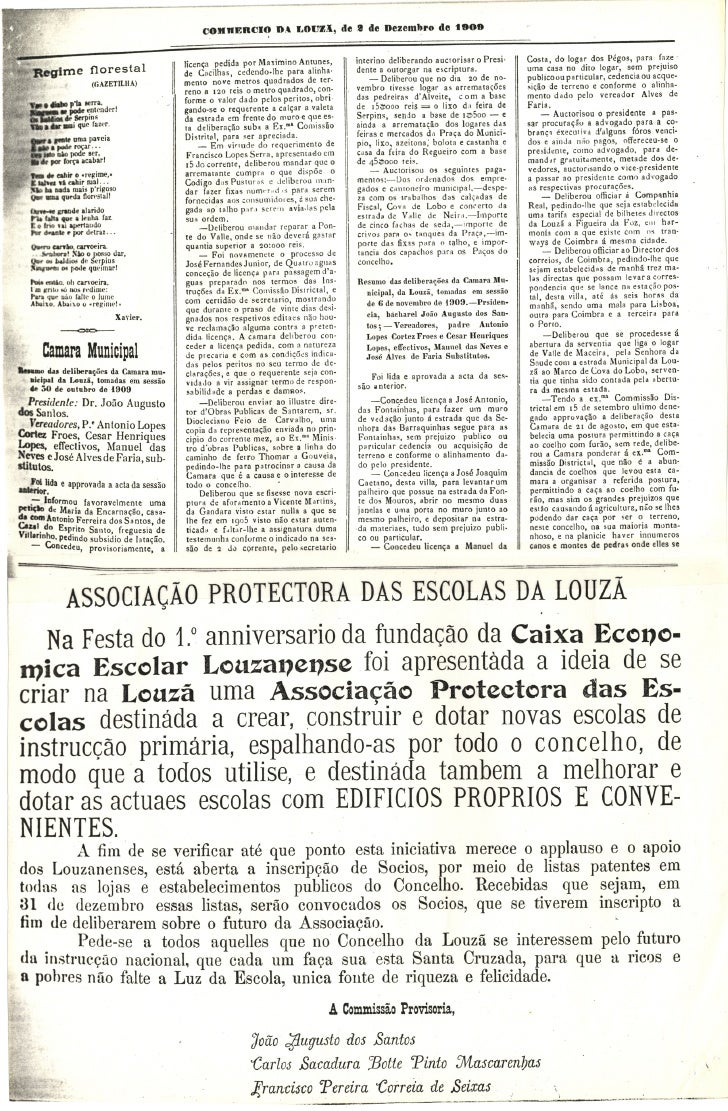 Commercio da Louzã n.º 30 – 02.12.1909 Slide 3