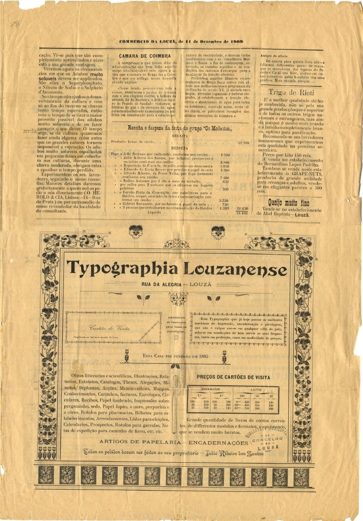 Commercio da Louzã n.º 31 – 11.12.1909 Slide 3