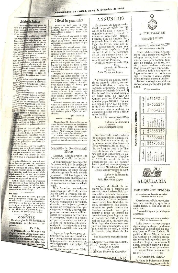 Commercio da Louzã n.º 32 – 22.12.1909 Slide 3