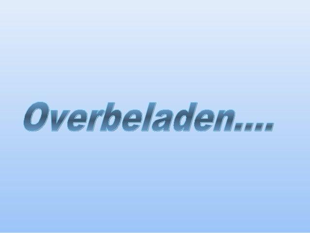 Cl.overbeladen k