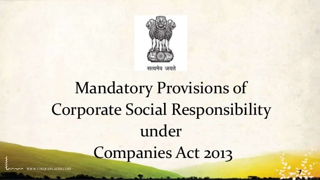 MANDATORY CSR IN INDIA EBOOK