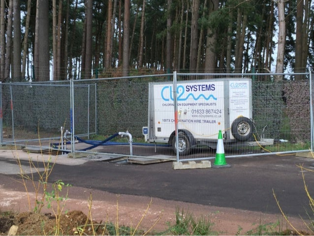 Cl2 Water Mains Chlorination And Dechlorination Support 2016