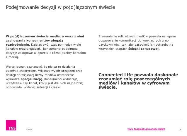 Connected Life od TNS Polska Slide 3