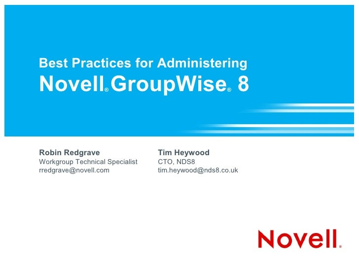 administering groupwise 5 5