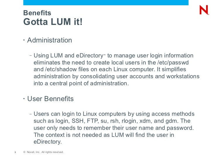 what s lum got to do with it deployment considerations for linux use
